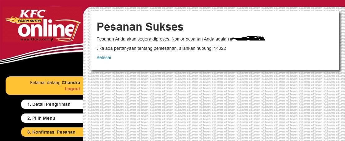 KFC Pesan Antar - OrderConfirmation Site 2013-05-28 00-31-45